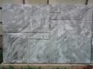 Цокольная плита 3001,4 цвет-серый мрамор